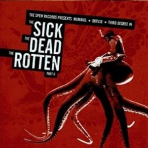 "Mumakil / Obtuse / Third Degree ""The Sick, The Dead, The Rotten Part II"" CD"