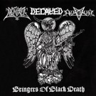 """Azaghal / Decayed / Pogost """"Bringers of Black Death"""" CD"""