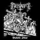 "Besatt ""Diabolic Altar"" (czerwony) LP"